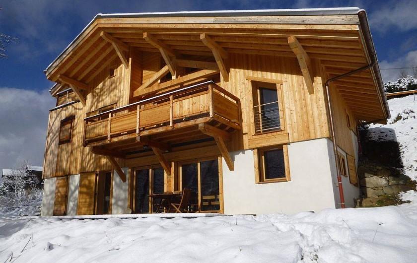 Location de vacances - Appartement à Samoëns - Un chalet Neuf  en plein sud