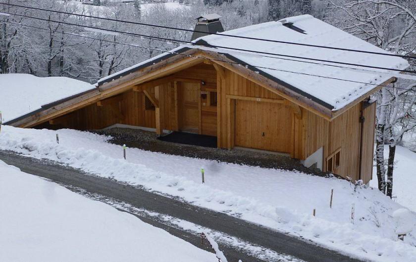 Location de vacances - Appartement à Samoëns - L'acces et l'entrée du chalet