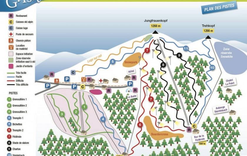 Location de vacances - Chalet à Osenbach - Station de ski du Markstein a 25 min