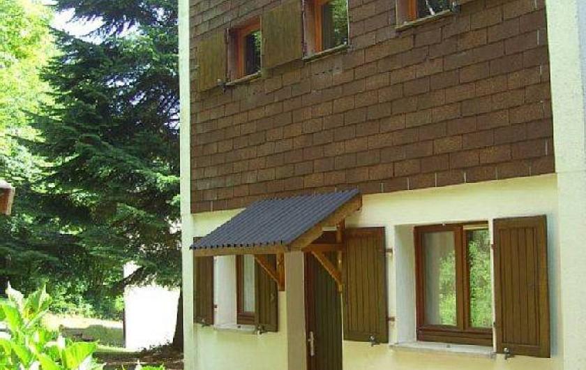 Location de vacances - Chalet à Osenbach - Coté entrée