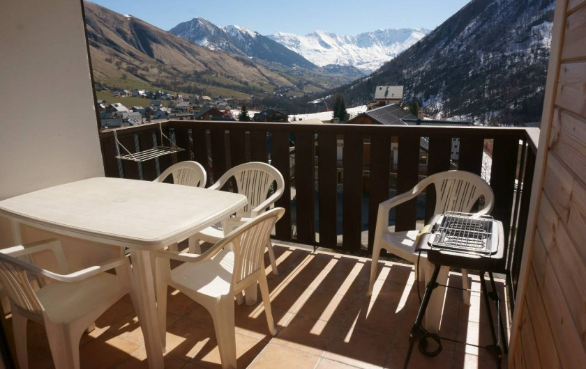 Location de vacances - Appartement à Saint-Sorlin-d'Arves - Terrasse