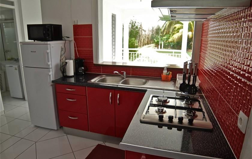 Location de vacances - Appartement à Petit-Canal