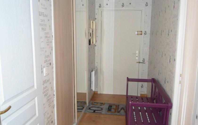 Location de vacances - Appartement à Le Touquet-Paris-Plage - l'entrée