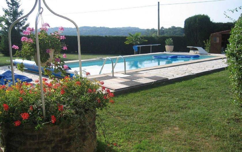 Location de vacances - Gîte à Prats-de-Carlux - Piscine 9X4M filtration au sel