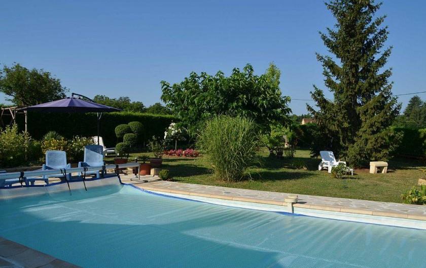 Location de vacances - Gîte à Prats-de-Carlux - Piscine
