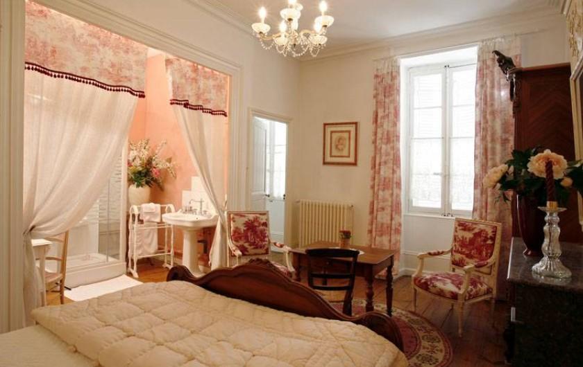 Location de vacances - Chambre d'hôtes à Saintes - La Romantique