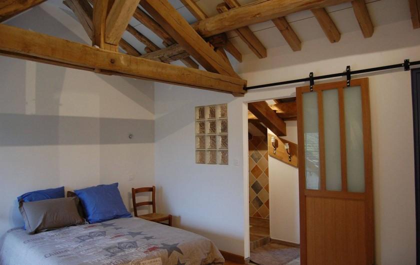 Location de vacances - Chambre d'hôtes à Landes-le-Gaulois - Chambre Tête de Linotte