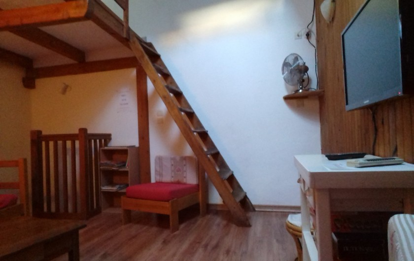 Location de vacances - Appartement à Embrun - salon