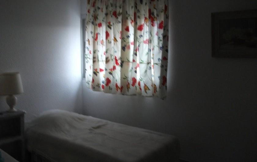 Location de vacances - Appartement à Le Barcarès - chambre