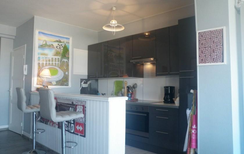 Location de vacances - Appartement à Le Touquet-Paris-Plage - encore la cuisine .. c'est car je n'ai pas fait les photos des chambres !