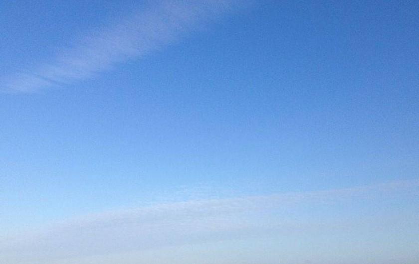 Location de vacances - Appartement à Le Touquet-Paris-Plage - Un matin ensoleillé,la plage,le ciel azur ,les mouettes,les rayons du soleil
