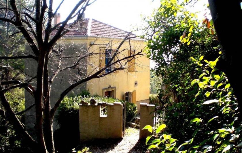 Location de vacances - Villa à Tourrettes - La Maison