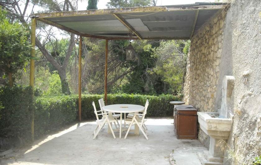 Location de vacances - Villa à Tourrettes - La terrasse