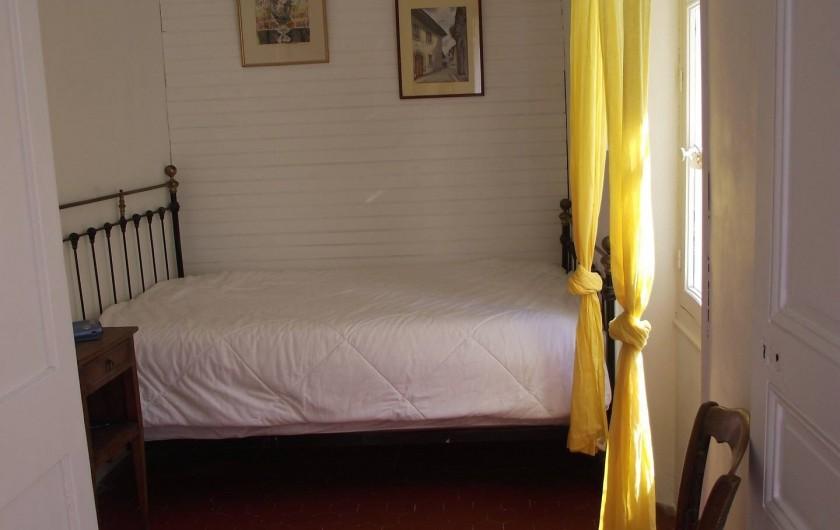 Location de vacances - Villa à Tourrettes - Chambre 2-   Lit 2 places