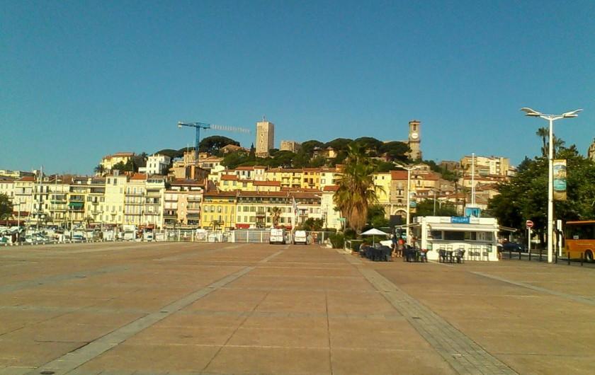 Location de vacances - Appartement à Cannes - Vieux Port -Pantiéro