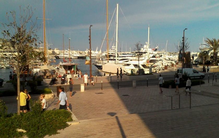 Location de vacances - Appartement à Cannes - Quai St Pierre