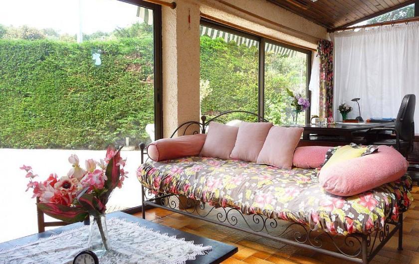 Location de vacances - Villa à Six-Fours-les-Plages - Véranda