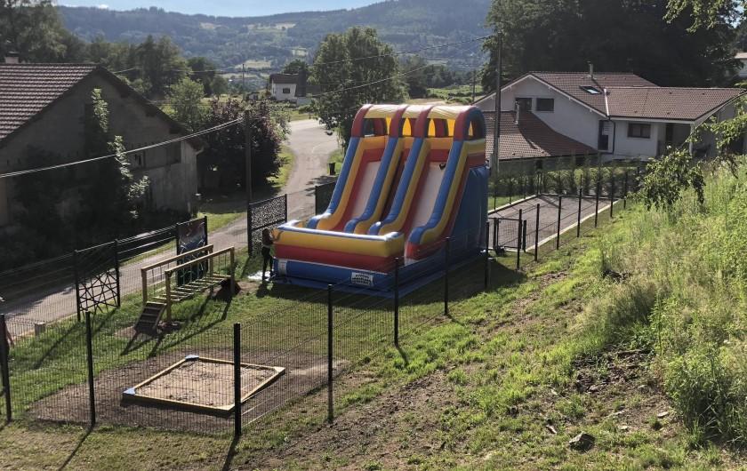Location de vacances - Chalet à Rupt-sur-Moselle - terrain de jeux