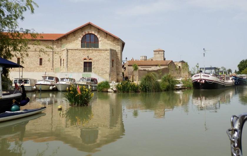 Location de vacances - Villa à Saint-Génies-de-Fontedit - Canal du Midi à Colombiers