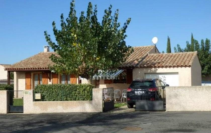 Location de vacances - Villa à Saint-Génies-de-Fontedit