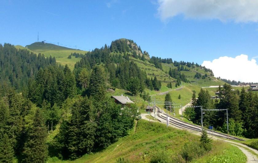 Location de vacances - Hôtel - Auberge à Villars-sur-Ollon - Au coeur des sentiers pédestres
