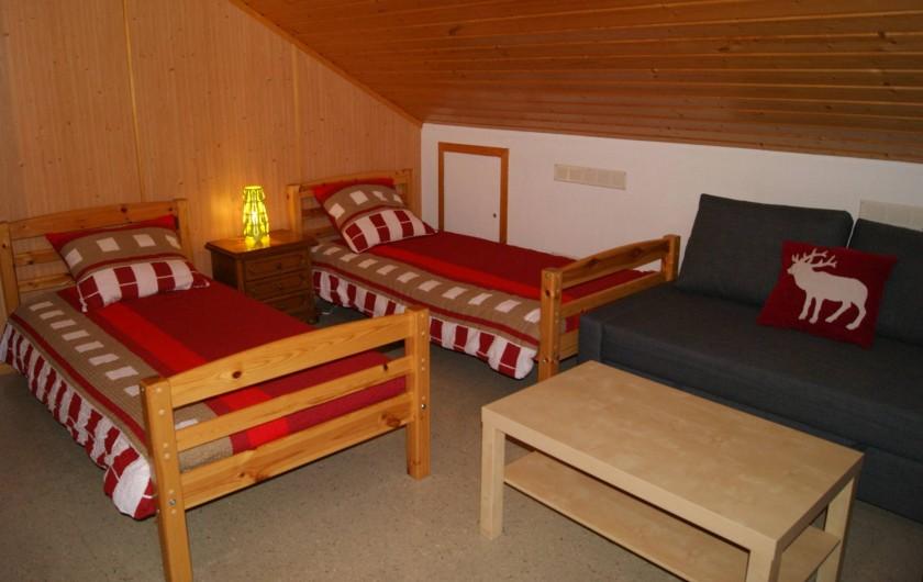 Location de vacances - Hôtel - Auberge à Villars-sur-Ollon - Chambre 313
