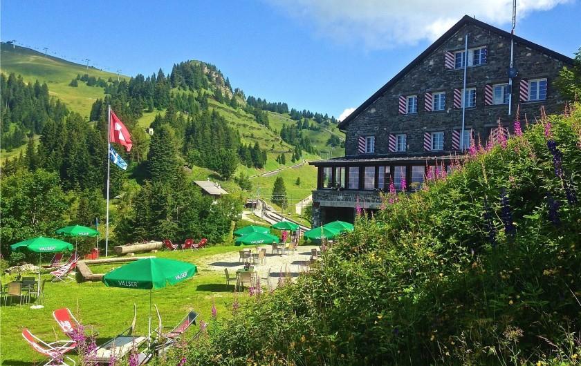 Location de vacances - Hôtel - Auberge à Villars-sur-Ollon - Au coeur de la nature