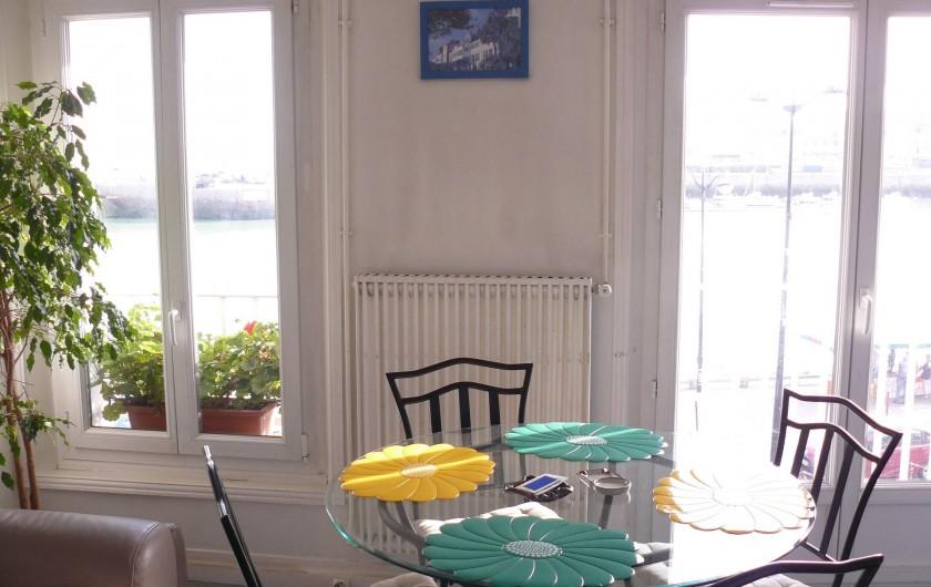 Location de vacances - Appartement à Le Tréport - Coin salle à manger