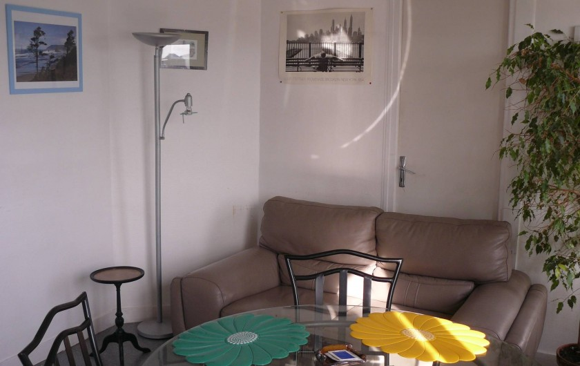 Location de vacances - Appartement à Le Tréport - Coin salon