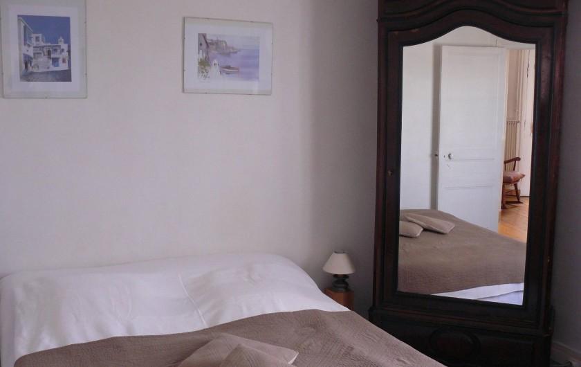 Location de vacances - Appartement à Le Tréport - Chambre du quai