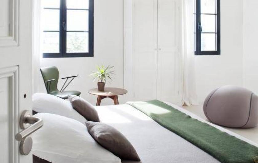 Location de vacances - Chambre d'hôtes à Méthamis - Chambre Opaline avec jacuzzi, ambiance zen