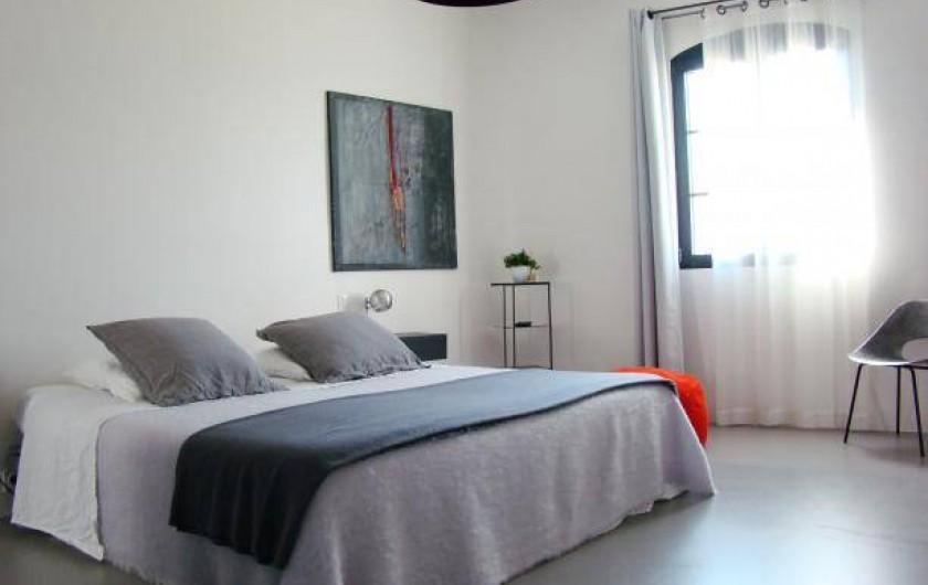 Location de vacances - Chambre d'hôtes à Méthamis - Chambre Lilly avec jacuzzi