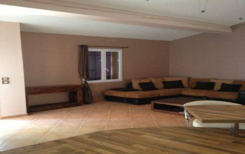Location de vacances - Villa à Lorgues - grand sallon
