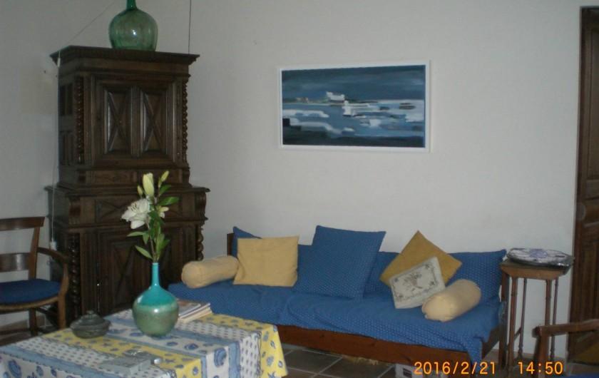 Location de vacances - Villa à Carnac - Salle de séjour