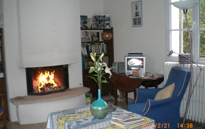 Location de vacances - Villa à Carnac - avec cheminée et télévision