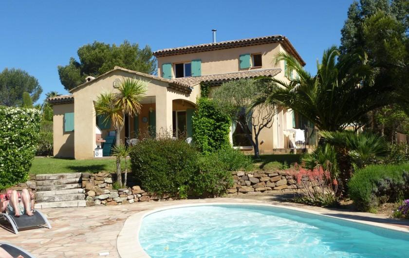 """Location de vacances - Villa à Saint-Raphaël - Villa """"La Ticaso"""""""