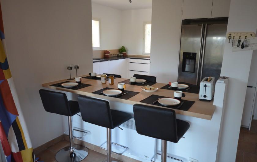 """Location de vacances - Villa à Saint-Raphaël - chambre """"le figuier"""""""