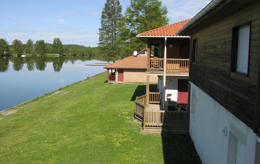 Location de vacances - Centre de vacances à Soustons - CHAMBRES VUE LAC