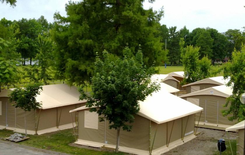 Location de vacances - Centre de vacances à Soustons - VILLAGE DE TENTES