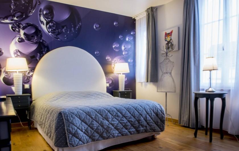Location de vacances - Chambre d'hôtes à Épernay - Chambre Intemporelle