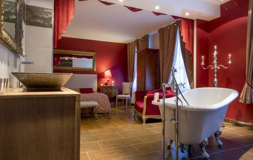 Location de vacances - Chambre d'hôtes à Épernay - Chambre Théâtrale