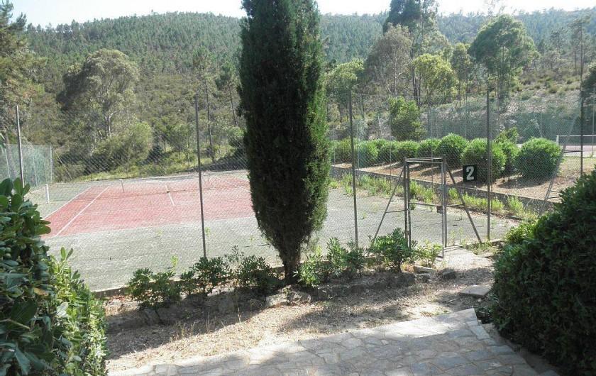 Location de vacances - Villa à Mandelieu-la-Napoule - tennis