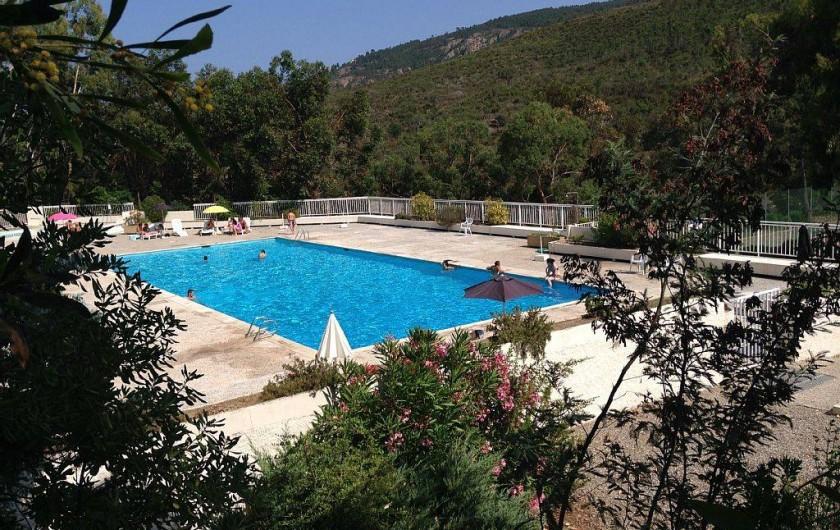 Location de vacances - Villa à Mandelieu-la-Napoule - piscine 25x10 m
