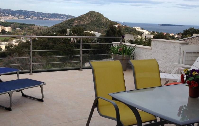 Location de vacances - Villa à Mandelieu-la-Napoule - terrasse