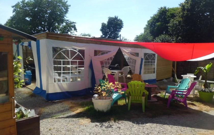Location de vacances - Bungalow - Mobilhome à Guillac