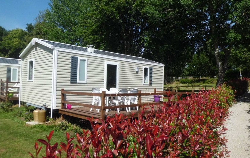 Location de vacances - Bungalow - Mobilhome à Guillac