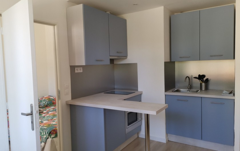 Location de vacances - Appartement à Cassis - cuisine