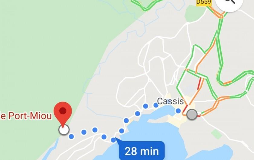 Location de vacances - Appartement à Cassis - Calanque de Port-Miou