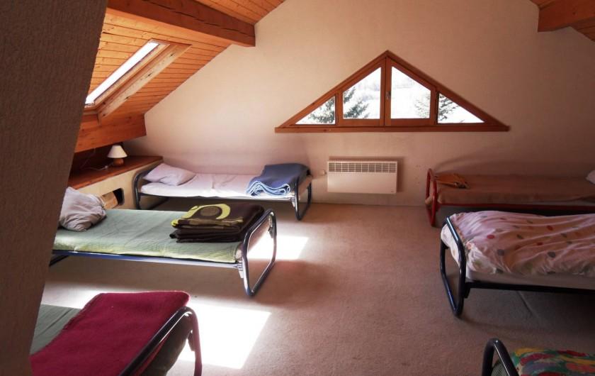 Location de vacances - Chalet à Saint-Bonnet-en-Champsaur - Chambre 30 m2 N°7 (2 ém étage)