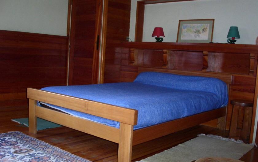 Location de vacances - Chalet à Saint-Bonnet-en-Champsaur - Chambre 20 m2 N°1  (1 ér étage)
